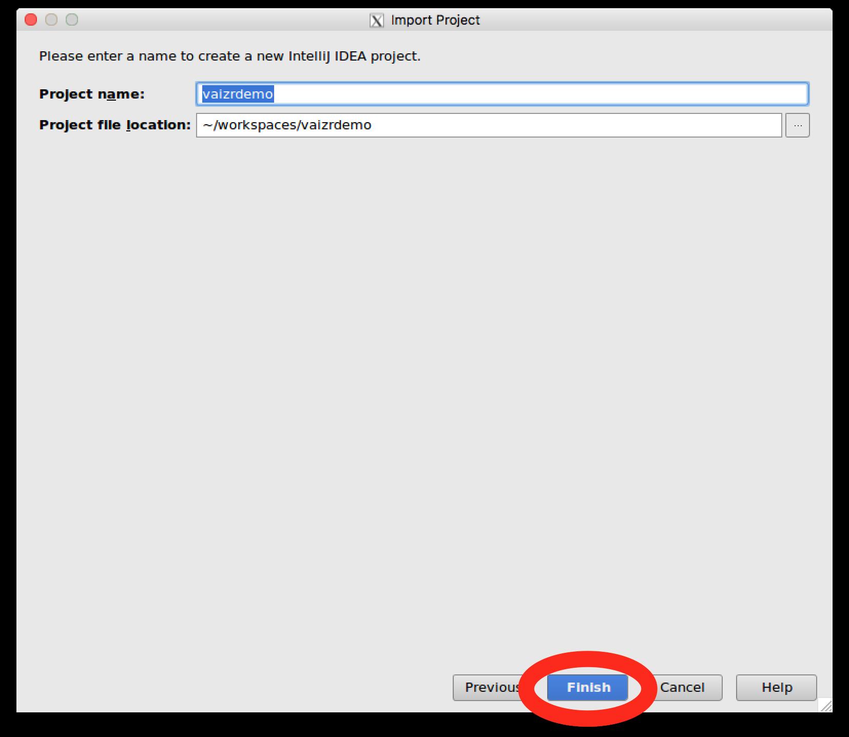 Generate Screens - Vaizr Documentation
